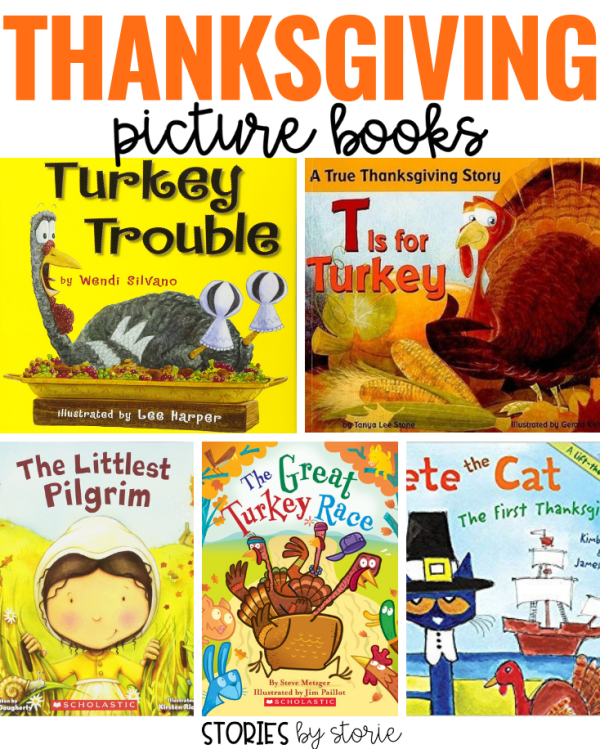 Are you looking for a new Thanksgiving picture book to share with your students? Here are 5 Thanksgiving picture books that my daughter loves.