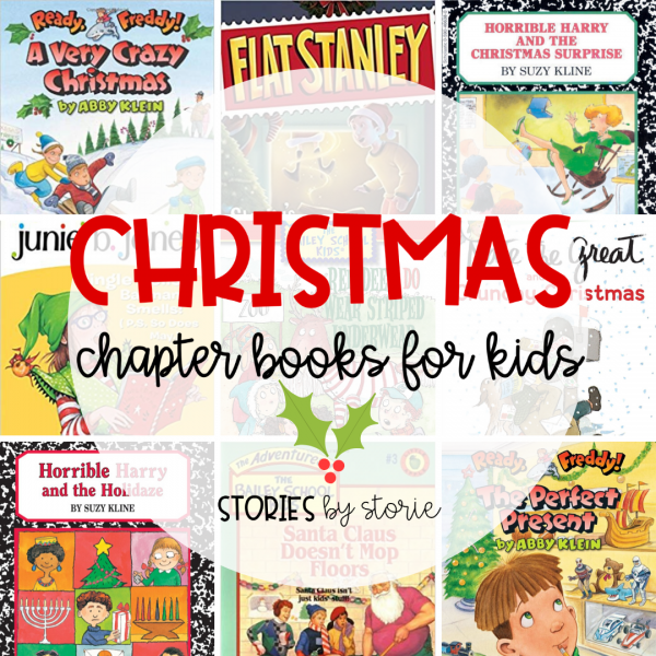 Christmas Chapter Books for 2nd Graders