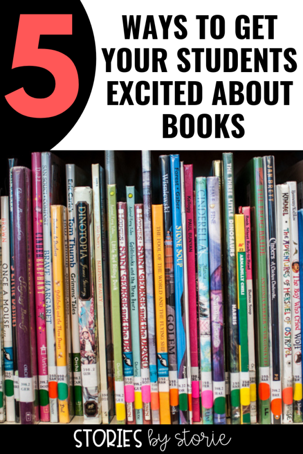 Are you struggling to get your reluctant readers excited about the books available to them? Are your students losing interest in reading in favor of daydreaming about summer? Here are some of my favorite ways to get my students excited about books throughout the school year!