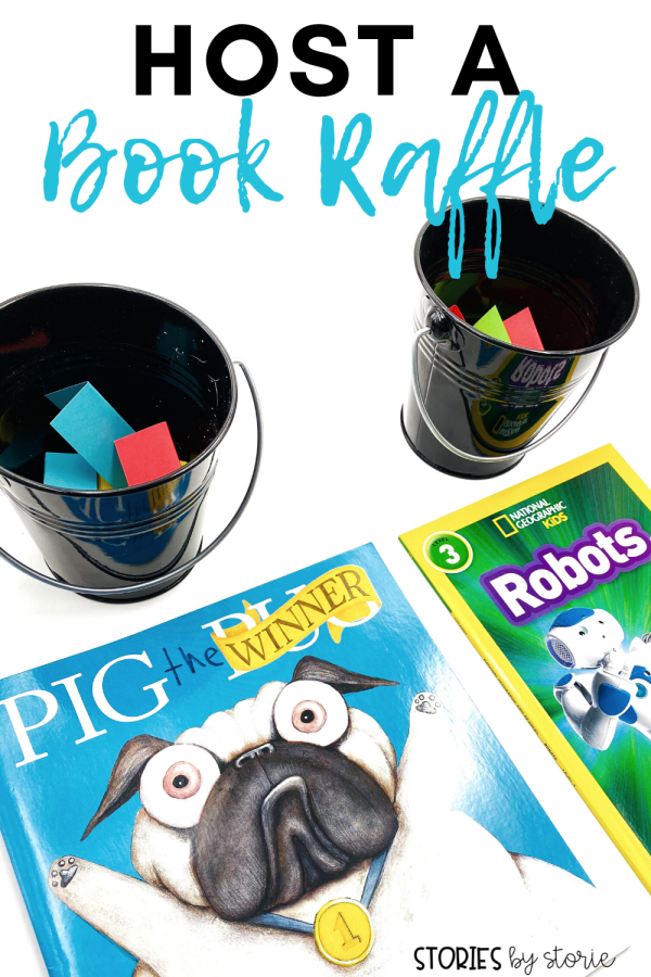 Are you looking for a way to build excitement about books in your classroom? Try a Book Raffle!