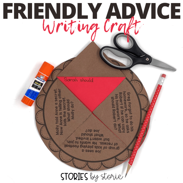 After reading Enemy Pie, you can talk to students about other friendship scenarios they might face. Students can offer friendly advice using this pie craft.