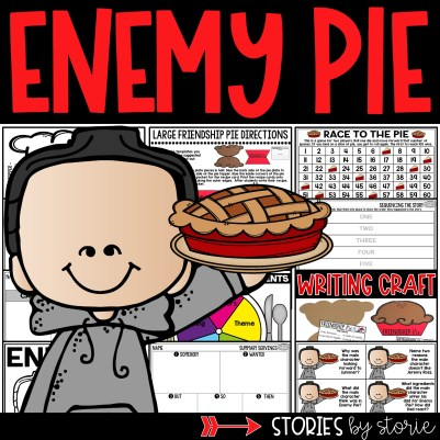 This Enemy Pie book companion contains a friendship pie craft, comprehension questions, vocabulary activities, graphic organizers, and more!