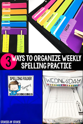 3 Ways to Organize Weekly Spelling Practice