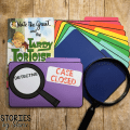 Nate the Great is a fantastic book series for introducing the mystery genre to 1st and 2nd graders. This flip book and craft booklet can be used with any of the books in the series.