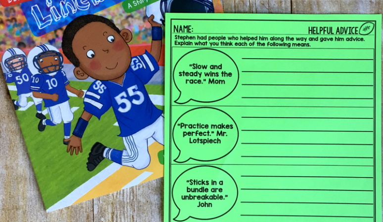 The Little Linebacker (with a FREEBIE)