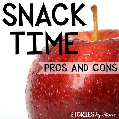 Snack Time {Pros and Cons}
