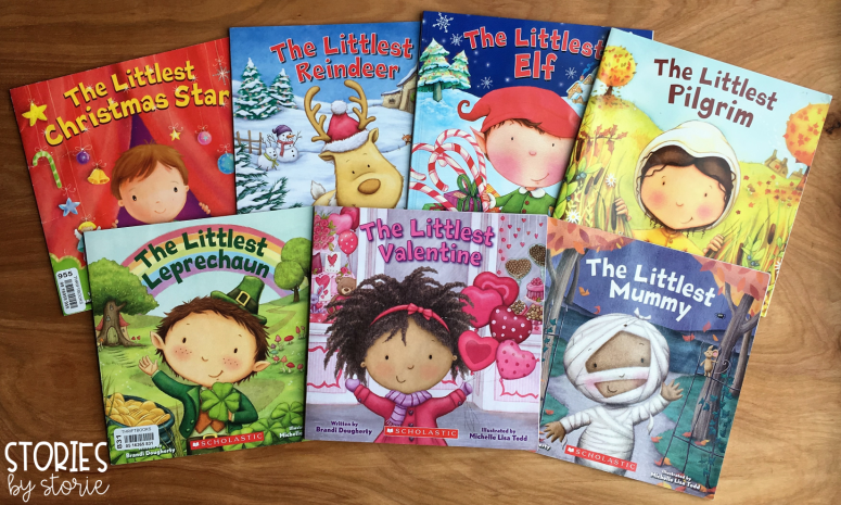 The Littlest Books by Brandi Dougherty are great stories to read near the holidays and perfect for making text-to-text connections.