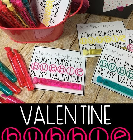 Valentine's Day – Free Bubble Gift Tags