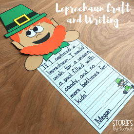 The Story of the Leprechaun Craft and Book Activities