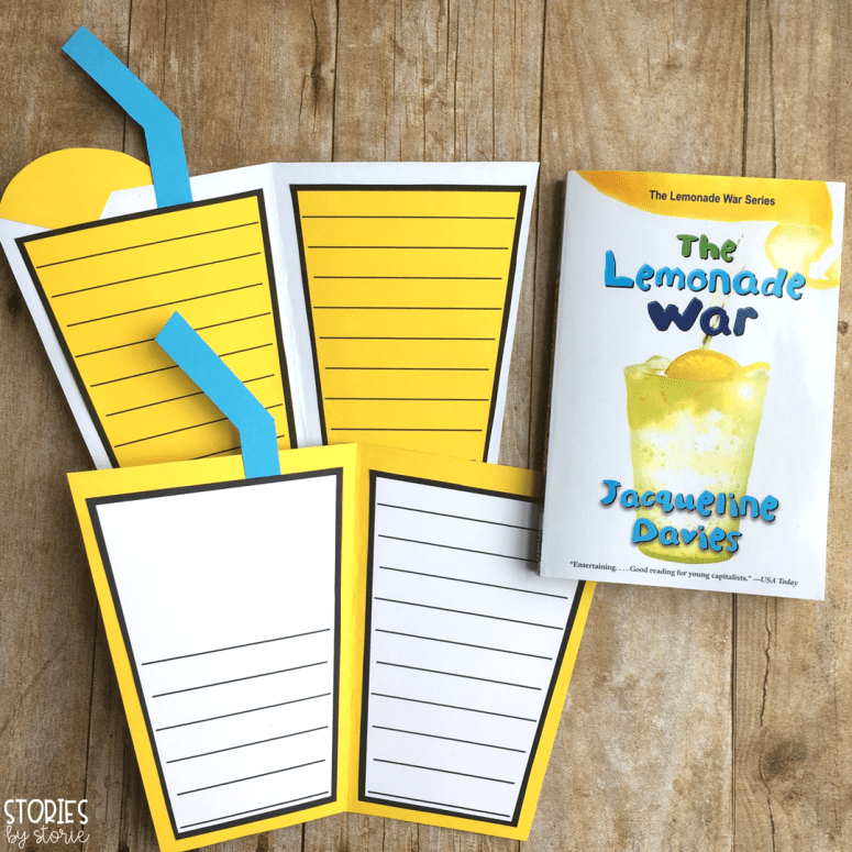 The Lemonade War Craft and Vocabulary Booklet