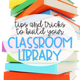 10 Ways to Build Your Classroom Library