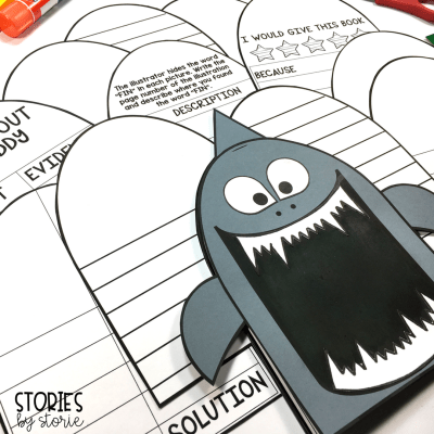 Freddy Thresher, the main character in the Ready, Freddy! series by Abby Klein loves sharks! Your shark enthusiasts can create this shark craft and response booklet to use while reading any of the books in the Ready, Freddy! series.