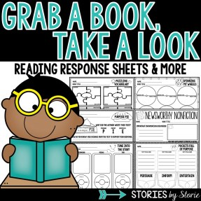 Graphic Organizers and Reading Response Sheets for Fiction and Nonfiction Texts