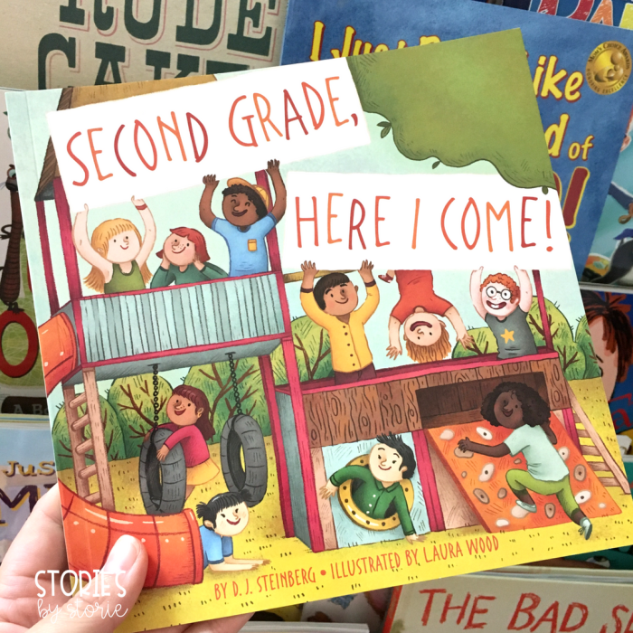 Second Grade, Here I Come is a great book to read when welcoming second graders into the classroom on the first day of school.