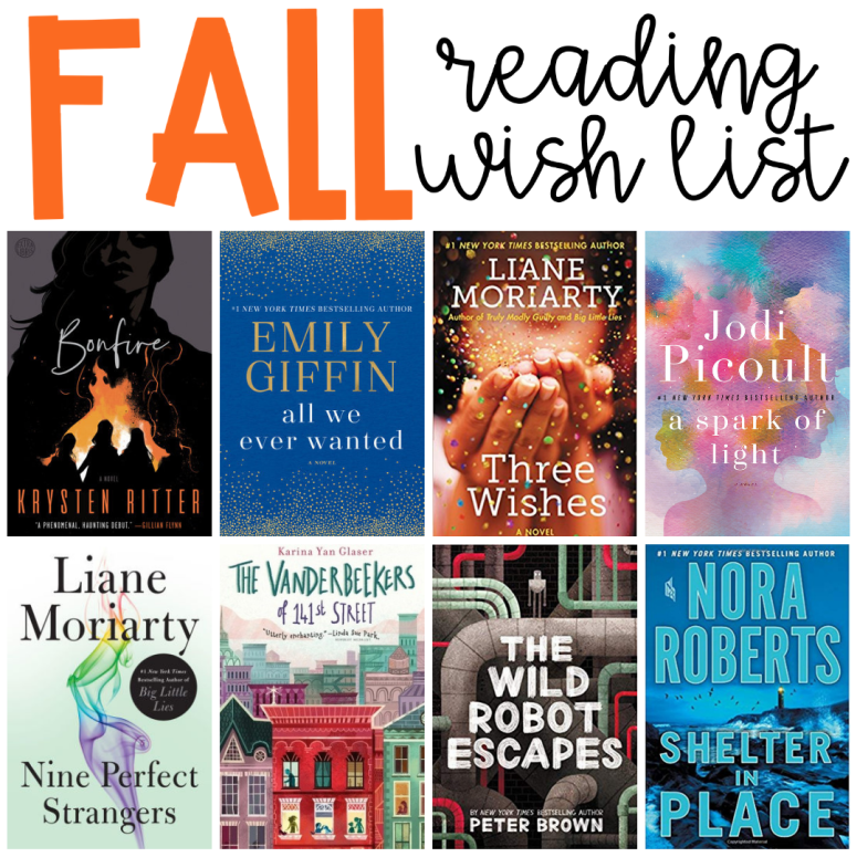 Fall Reading Wish List