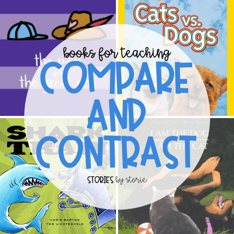 Books for Teaching Students to Compare and Contrast