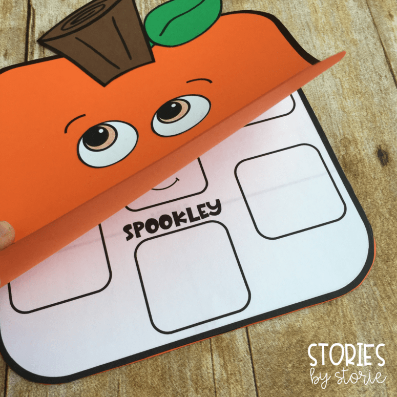 After reading The Legend of Spookley the Square Pumpkin by Joe Troiano, students can respond to the text using these square pumpkin reading response craft booklets.