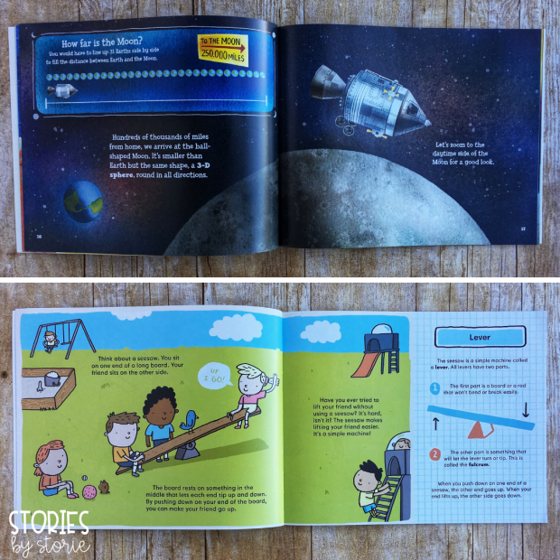 Let's Read and Find Out About Science books are a great nonfiction book series for kids. These leveled books explain science concepts in simple terms that children in the primary grades can understand. Books in this series read more like a picture book which is a friendly format for young readers. The amount of text per page and content does increase slightly between levels 1 and 2 in this series.