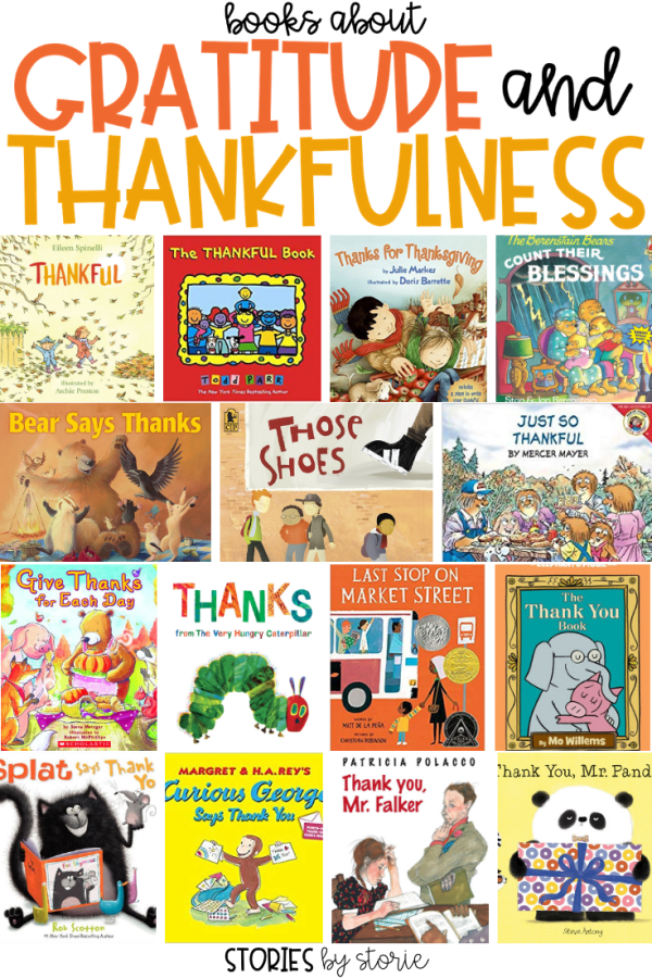 There are many important lessons students can learn from books to help encourage gratitude and thankfulness. Here are some books about gratitude and thankfulness that you can read together. I encourage you to share these books throughout the whole year and not just near the holidays.