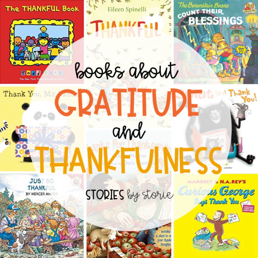 One way to foster gratitude in the classroom is by sharing books. Here are some of my favorite books about gratitude and thankfulness.