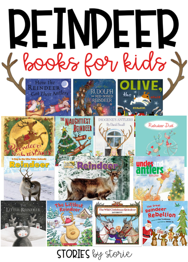 Kids love to read and learn about reindeer. This collection of reindeer books for kids includes some heartwarming stories, laugh-out-loud plot lines, factual information, and a traditional classic.