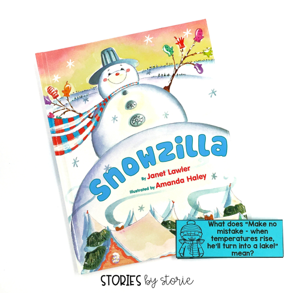 These 8 questions will help guide your discussion while reading Snowzilla by Janet Lawler.