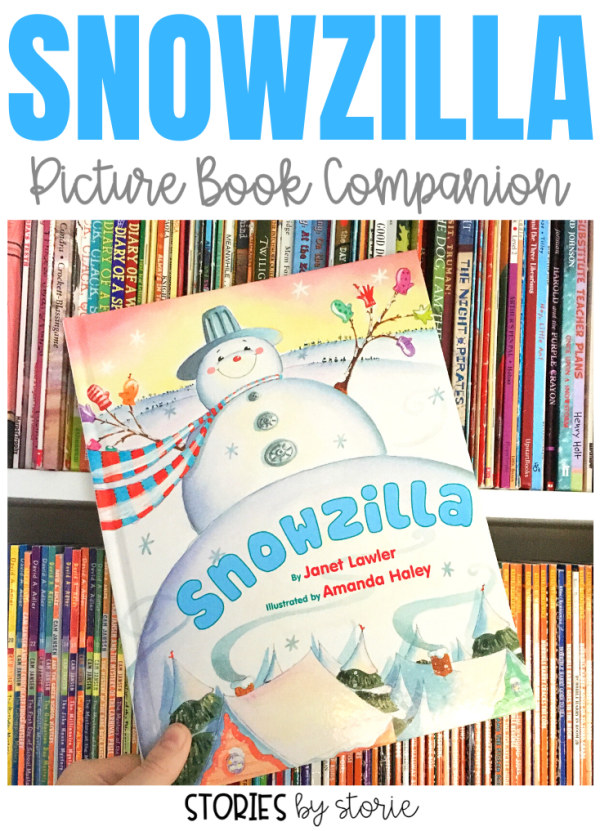 January is my favorite month to read books about snowmen, and Snowzilla by Janet Lawler is one of my favorites! Here are some activities to pair with the story along with a winter kid craft that your students will enjoy!