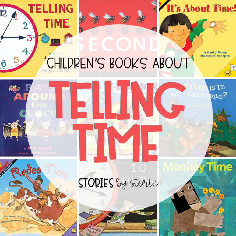 Children's Books about Telling Time