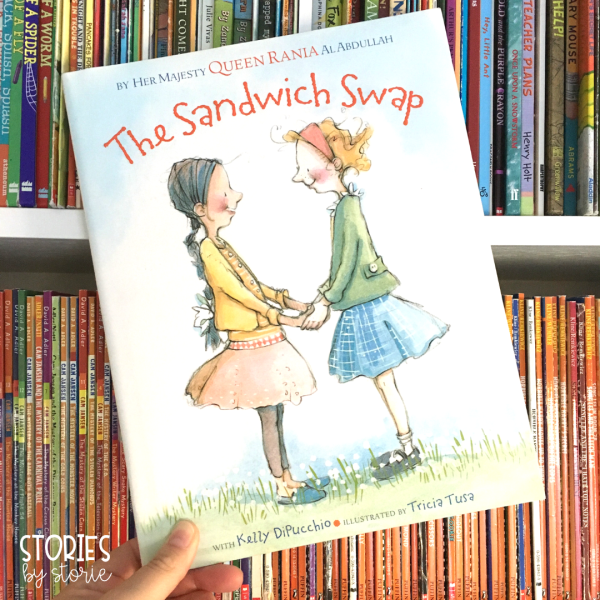 The Sandwich Swap is a story about friendship, acceptance, and keeping an open mind. In this story, two girls learn that their friendship is much stronger than their differences.