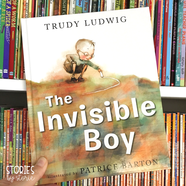 The Invisible Boy is a story about compassion, inclusion, and the power of kindness. In this story, Brian feels that he is invisible to his teacher and his peers. But when he goes out of his way to make Justin, the new boy feel welcome, Justin helps Brian feel included and seen by all.