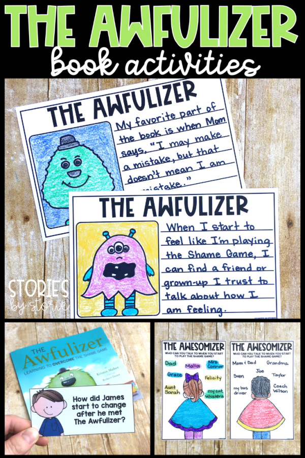 Has your mind ever been filled with doubts or negative thoughts about your self-worth? It's more common than you think! The Awfulizer is a story that helps show children that shame is a powerful emotion, but one that can be conquered with the right strategies and support. Here are some activities you can pair with The Awfulizer.
