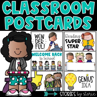 Looking for a way to spice up your writing center? Try classroom postcards! Kids love sending and receiving mail. This resource contains a variety of postcards to use in the classroom.
