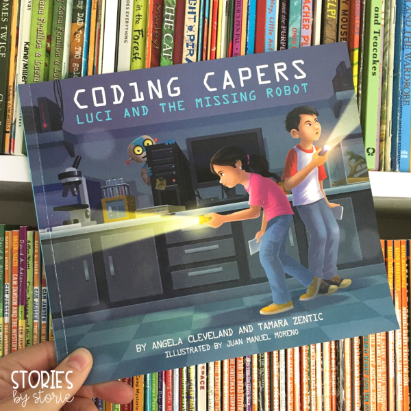 Coding Capers: Lucy and the Missing Robot is an adventure story that also teaches coding terminology in a way kids can understand. This STEM-friendly book would be a great addition to your classroom library.