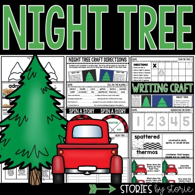 This picture book companion for Night Tree by Eve Bunting contains comprehension and vocabulary activities, graphic organizers, and a night tree writing craft.