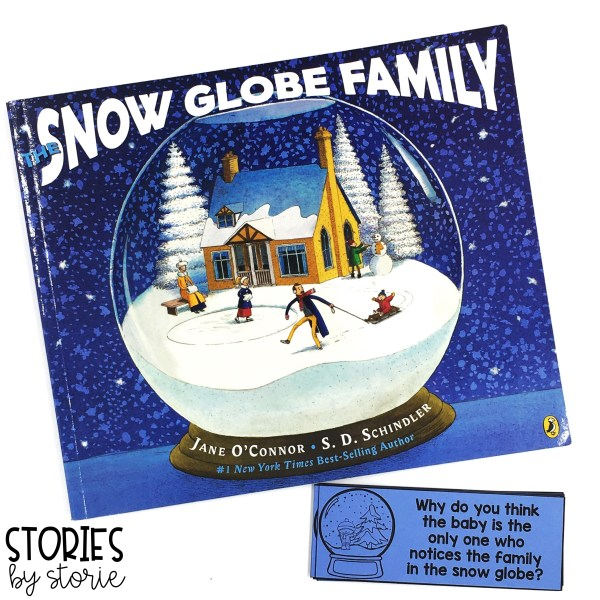 These 8 questions will help guide the discussion as you read The Snow Globe Family. Students can also respond to these questions in writing.