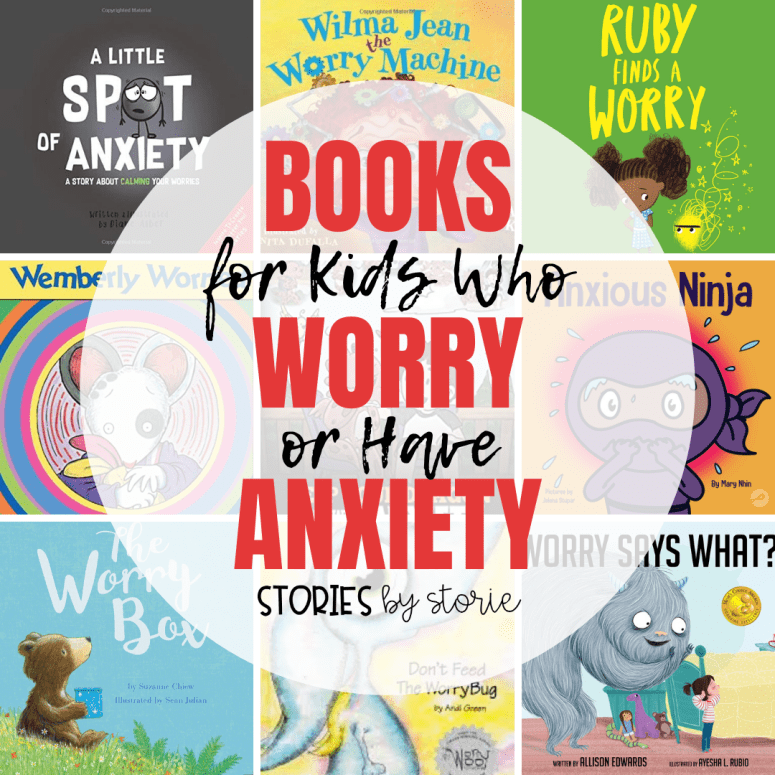 Books for Kids Who Worry or Have Anxiety
