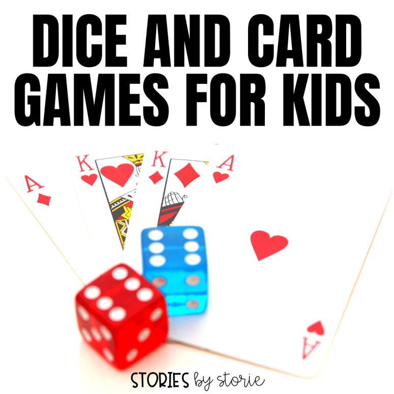Dice and Card Games Your Kids Will Love