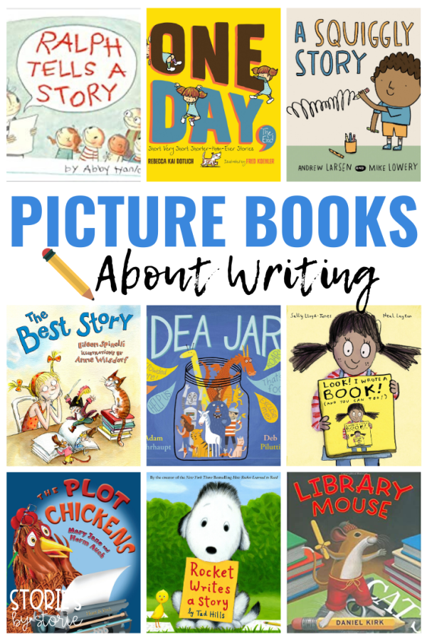 Reading and writing make a pretty great pair, right? I mean, our students get some of their best ideas from books they have read. When it comes to helping kids become better writers, I like to draw upon picture books as mentor texts. Here are some of my favorite picture books about writing for kids. These are sure to inspire some great writing!