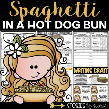 This book companion for Spaghetti in a Hot Dog Bun contains comprehension questions, vocabulary activities, graphic organizers, and a writing craft.