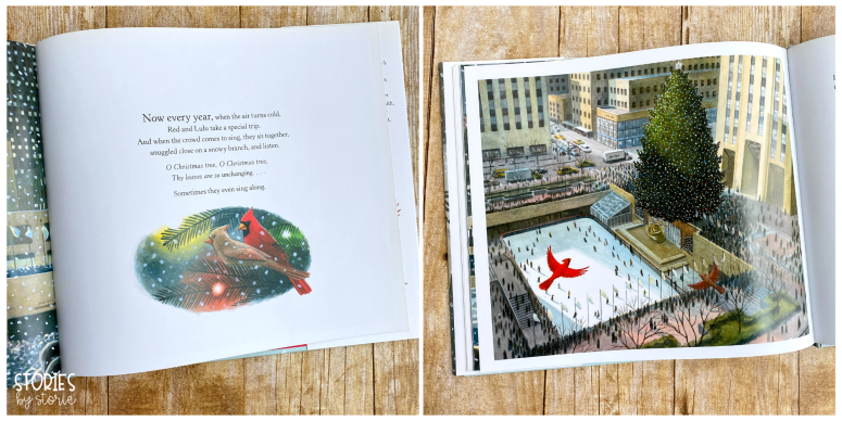 Red and Lulu is a beautiful story that combines Christmas cheer with the magic of New York City. Within its pages you will find a message about how important it is to be surrounded by love.
