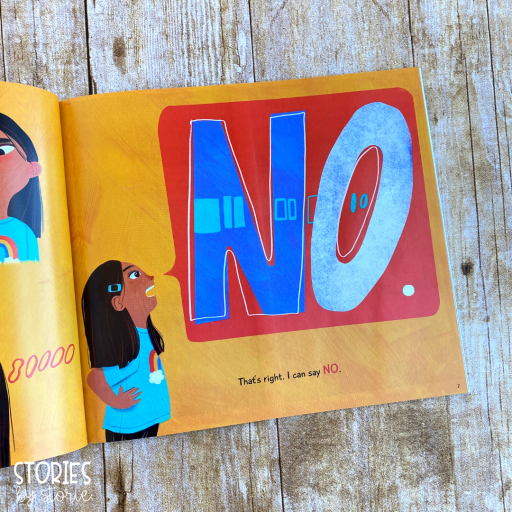 I Can Say No by Jenny Simmons and Kristin Sorra.