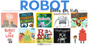 Do you know a child who is fascinated by robots? One who dreams of creating a robot to do all of their chores or to help their community? Keep encouraging that creativity and excitement with these robot books for kids.