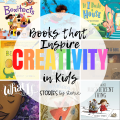 Do you want your kids to spend less time in front of a screen and more time getting creative? Books can help them get started. Here are some of my favorite children's books that inspire creativity.