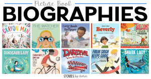 Picture book biographies are accessible to so many readers, packed with interesting information, and often filled with colorful illustrations. Here are some of our favorite picture book biographies.