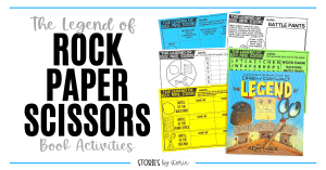 When kids must decide who goes first, they often turn to a quick game of Rock Paper Scissors. But have you ever wondered how that game got started? Drew Daywalt and Adam Rex teamed up to offer a humorous take on the game. Here are a few activities to pair with The Legend of Rock, Paper, Scissors.
