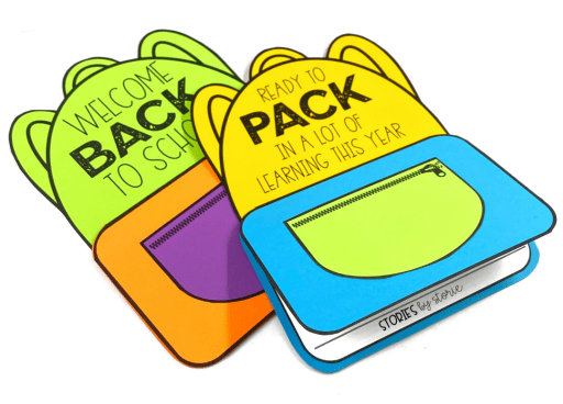 The excitement of a new school year is here. Use this backpack writing craft to help your students share their hopes and dreams for the new school year.