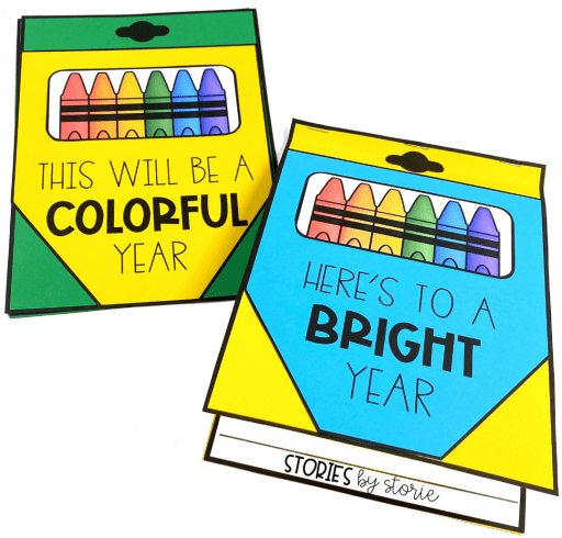 Are you ready to have the best school year ever? Start your year off in a fun way with this crayon box writing craft.