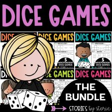 Dice Games Bundle for Math