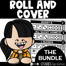 Roll and Cover Game Boards