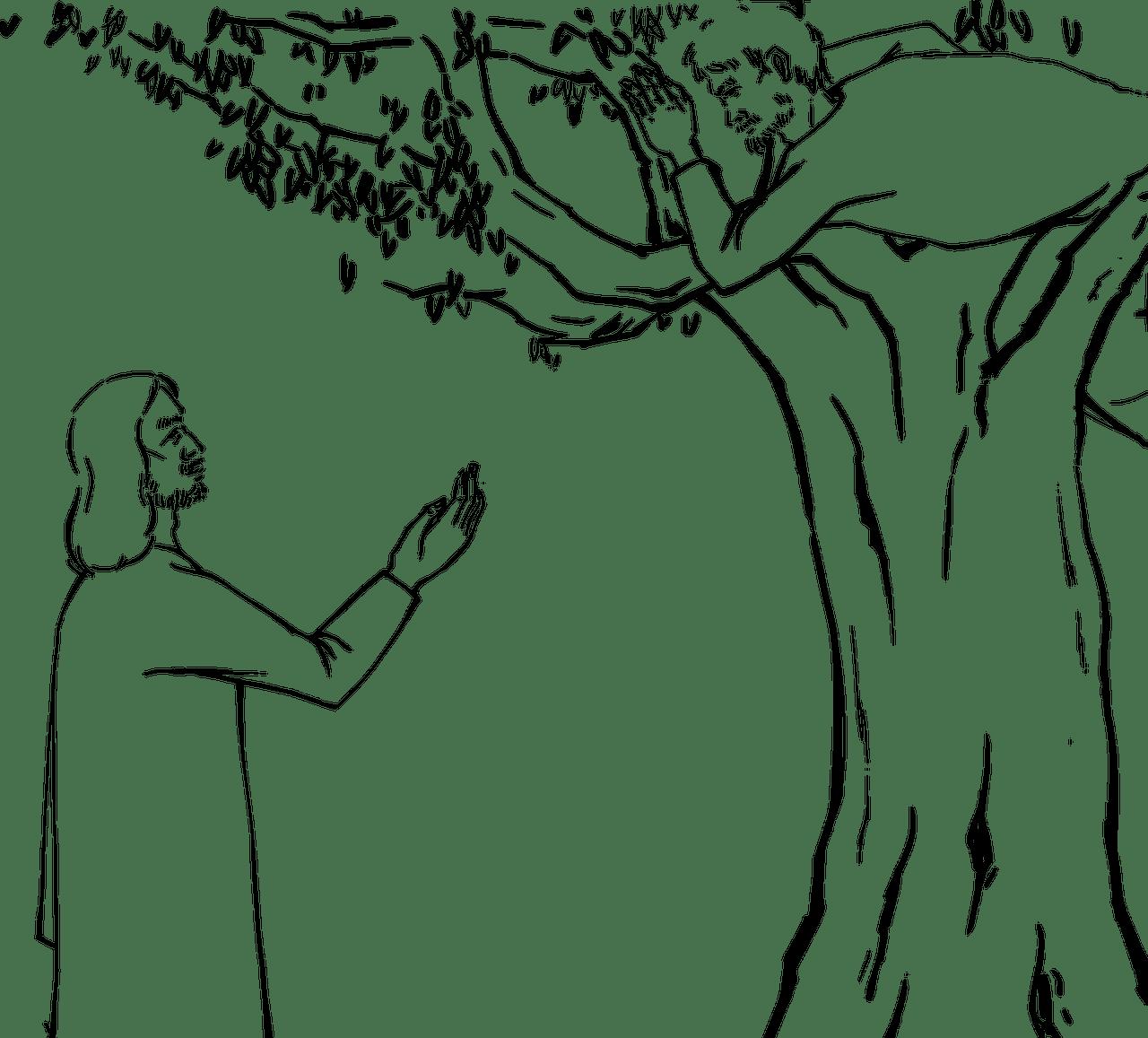 Zacchaeus Story for Kids